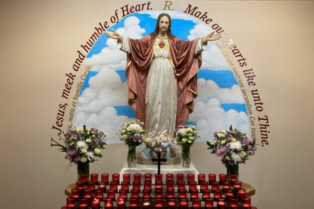 The Alcove of the Most Sacred Heart of Jesus