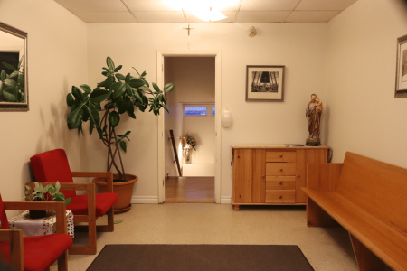 Cathedral Office entrance lobby