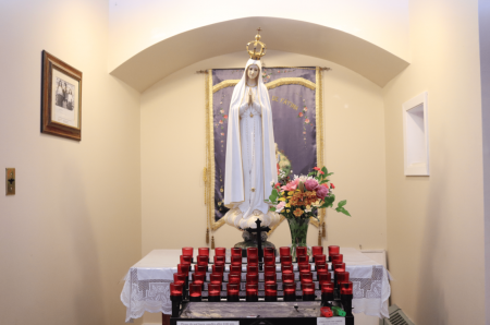 The Alcove of Our Lady of Fatima